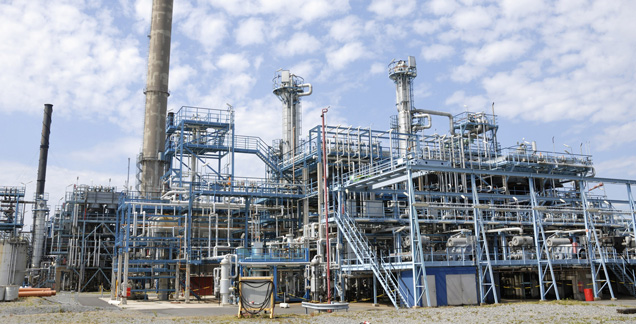asset management, chemical industry, petroleum industry