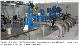 City of Guelph's Clair Rd pumping station